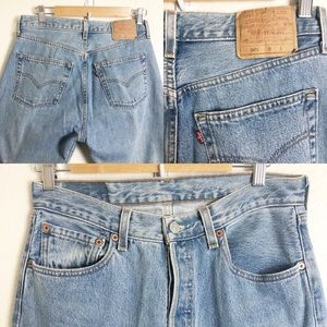 Vintage Red Tag Original Levi's 501 Jeans